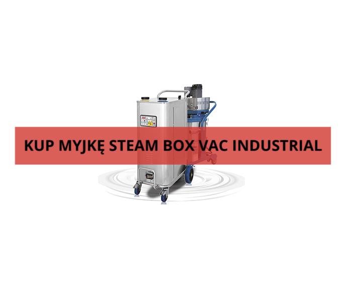 myjka parowa steam box vac industrial